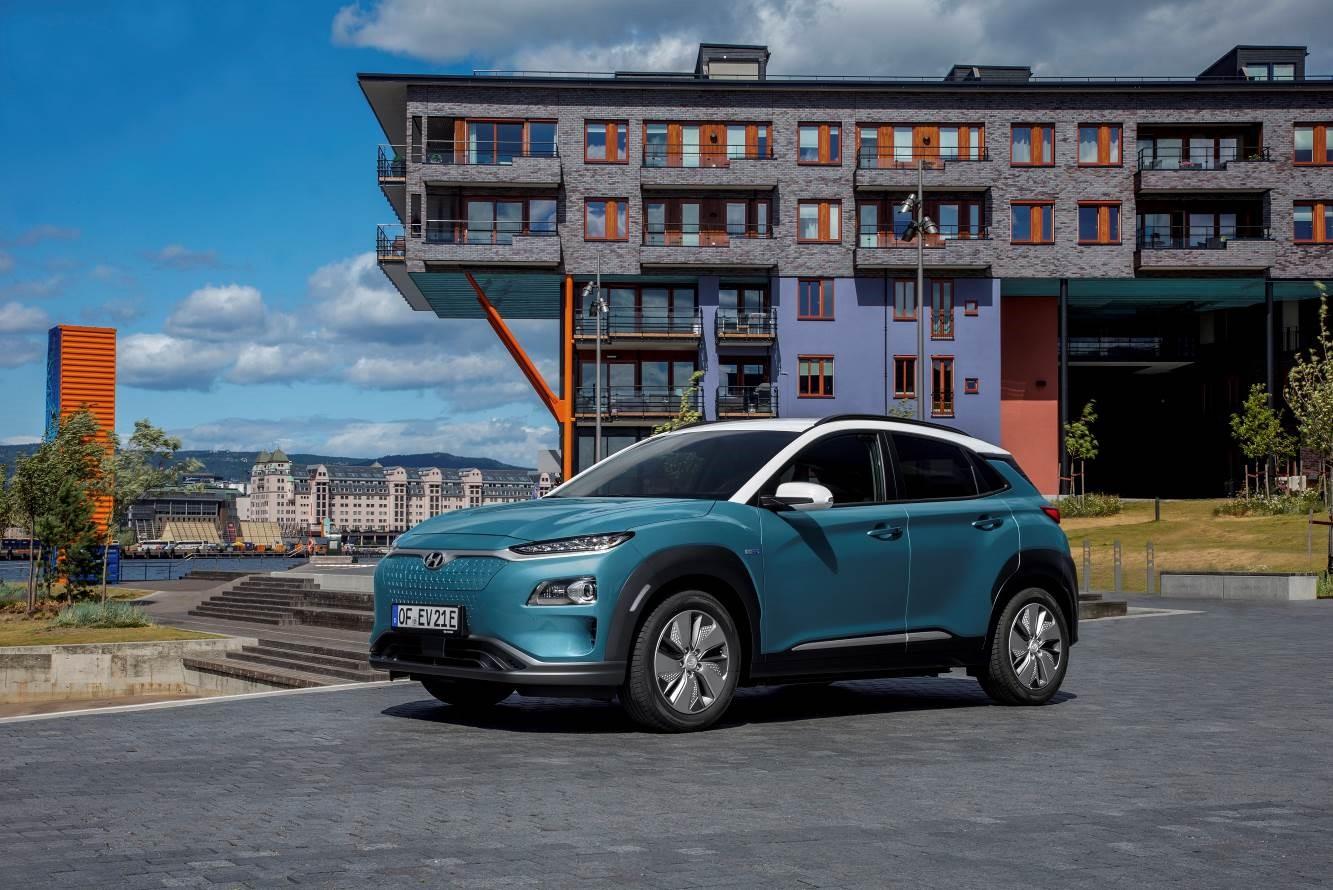 Кроссовер Hyundai Kona Electric признан одним из лучших электромобилей по версии TopGear Electric Awards