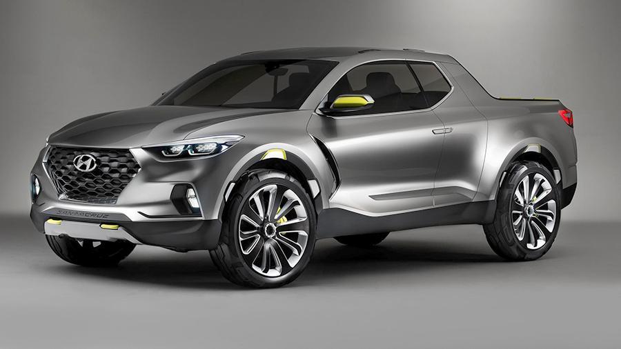 Hyundai начнет производство нового пикапа в 2021 году