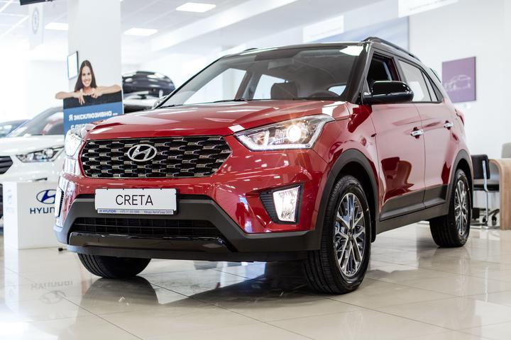 Hyundai  на  Ленинградской 125-А начал продажи обновленного кроссовера Creta.