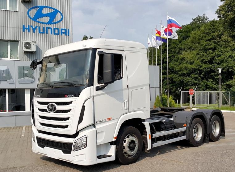 Концерн Hyundai замахнулся на седельный тягач