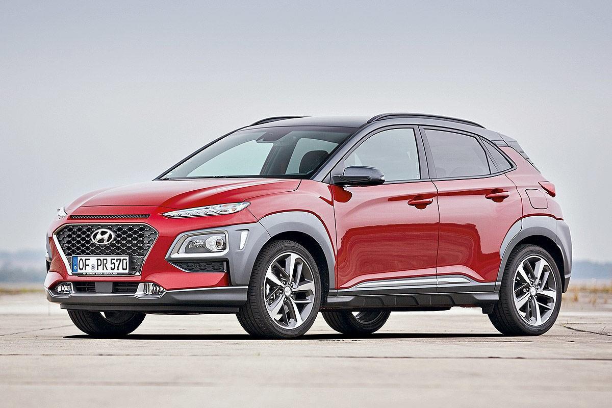 Hyundai Kona возглавила рейтинг компактных дизельных кроссоверов журнала Auto Bild