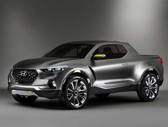 Hyundai Santa Cruz – пикапу быть?